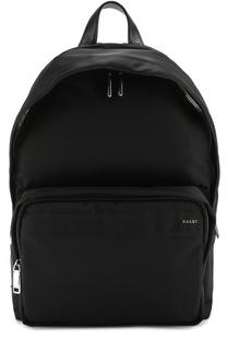 Текстильный рюкзак с отделкой из натуральной кожи Bally