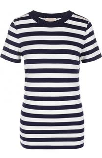 Приталенная футболка в полоску MICHAEL Michael Kors