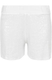 Мини-шорты с пайетками Deha