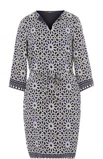 Приталенное мини-платье с принтом Windsor
