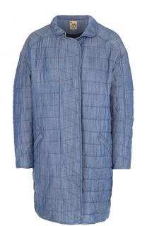 Стеганое джинсовое пальто свободного кроя 5PREVIEW
