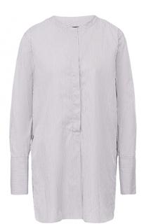 Удлиненная хлопковая блуза в полоску Isabel Marant