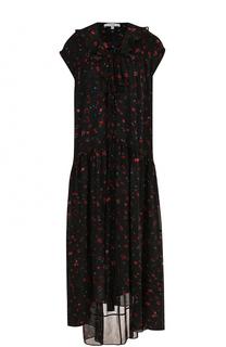 Платье свободного кроя с цветочным принтом Iro