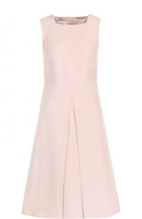 Приталенное платье-миди со складкой Valentino