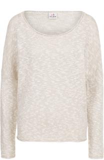 Пуловер свободного кроя с круглым вырезом Deha