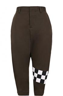 Укороченные хлопковые брюки Dsquared2