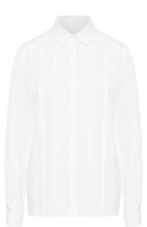 Полупрозрачная блуза прямого кроя HUGO