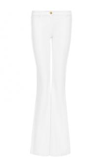 Расклешенные джинсы с контрастной пуговицей Michael Kors