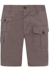 Хлопковые шорты с накладными карманами Dsquared2