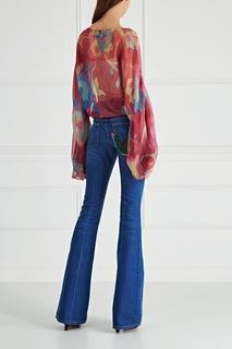 Шелковая блузка Valerie Porr Couture Peremotka