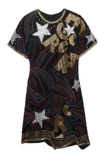 Шелковое платье Peremotka