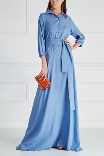 Шелковое платье-рубашка Laroom