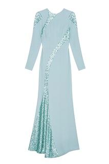 Платье со шлейфом Araida