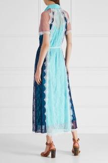 Гипюровое платье-рубашка Laroom