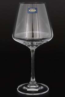 Набор бокалов для вина 360 мл Crystalite Bohemia