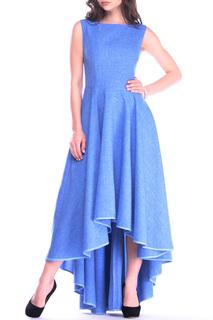 Повседневное платье с поясом REBECCA TATTI