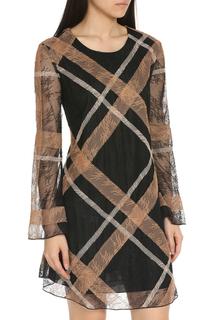 Легкое шифоновое платье Max Mara