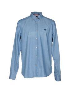 Джинсовая рубашка Henry Cottons