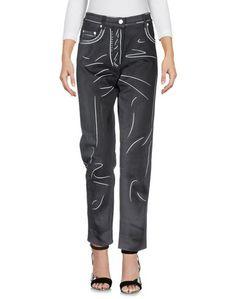 Джинсовые брюки-капри Moschino Couture