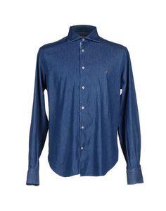 Джинсовая рубашка Brooksfield Royal Blue