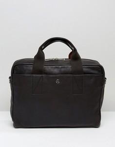 Кожаная сумка PS by Paul Smith - Черный