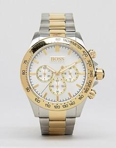Часы с хронографом из нержавеющей стали BOSS By Hugo Boss 1512960 - Серебряный