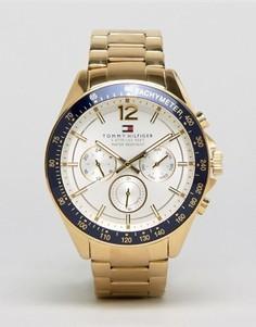 Часы из нержавеющей стали Tommy Hilfiger 1791121 Luke - Золотой