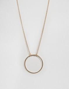 Ожерелье с кольцом Nylon - Золотой