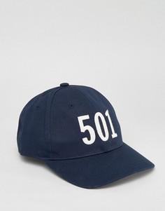 Синяя бейсболка Levis 501 - Темно-синий Levis®