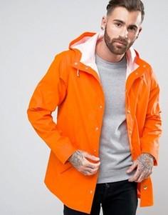 Водонепроницаемый дождевик оранжевого цвета ASOS - Оранжевый