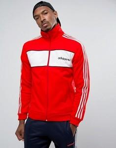 Красная спортивная куртка adidas Originals London Pack Block BK7840 - Красный