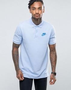 Синяя футболка-поло Nike Matchup 829360-450 - Синий