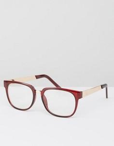 Круглые очки Jeepers Peepers - Черный