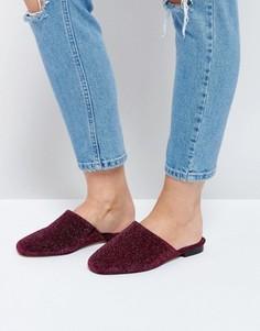 Туфли на плоской подошве ASOS MOTH - Розовый