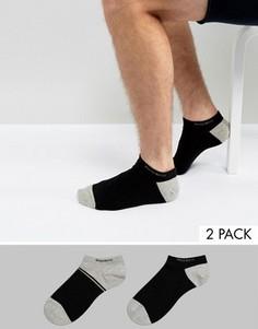 2 пары низких носков BOSS by Hugo Boss - Черный