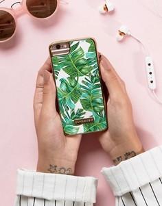 Чехол для iPhone 6/6s/7 с пальмовым принтом Skinnydip - Мульти