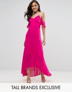 Платье макси TD By True Decadence Tall - Розовый