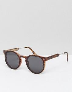 Круглые солнцезащитные очки Spitfire - Коричневый