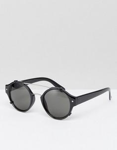 Круглые солнцезащитные очки Spitfire - Черный