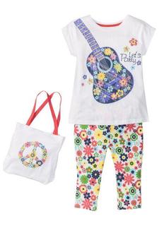 Комплект: футболка + легинсы + сумка