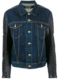 джинсовая куртка с принтом Junya Watanabe Comme Des Garçons