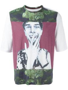 футболка с принтом человека Antonio Marras