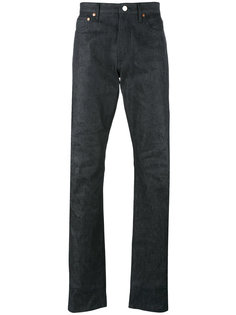 джинсы кроя слим Maison Kitsuné