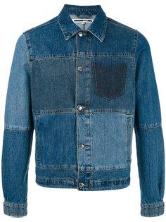 джинсовая куртка лоскутного кроя McQ Alexander McQueen