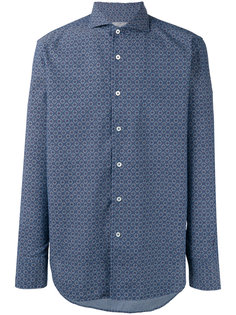 рубашка кроя слим с мелким узором Canali