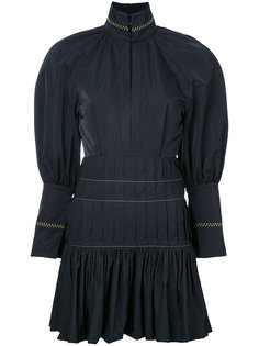 приталенное платье с плиссировкой Ellery