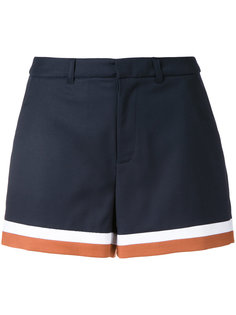 шорты с полосками по подолу Loveless