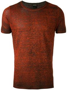 футболка с боковыми разрезами Avant Toi