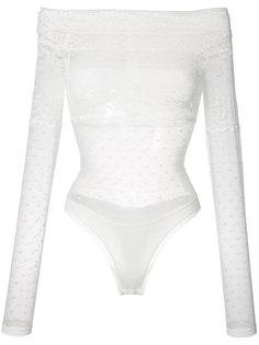 кружевная блуза с открытыми плечами Faith Connexion