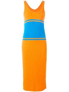 вязаное платье-майка длины миди Maison Margiela